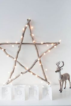 DIY Christmas decorations to do yourself 40 creative ideas to do Handmade Christmas Decorations, Christmas Crafts, Noel Christmas, Dollar Tree Decor, Navidad Diy, Scandinavian Christmas, Cool Diy Projects, Rustic Decor, Rustic Style