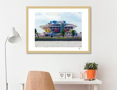 Discover «THE PIER», Limited Edition Fine Art Print by Kevin Nodland - From $29 - Curioos