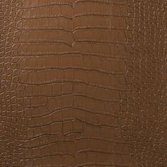 Le Embossed Croc - Deep Spice Brown  [LEC-5004] Le Embossed Croc | DesignerWallcoverings.com ™ - Your One Stop Showroom for Custom, Natural, & Specialty Wallcoverings | Largest Selection of Wall Papers | World Wide Showroom | Wallpaper Printers