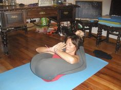 Yoganidrasana | Nina Mel Yoga Asanas | Pinterest