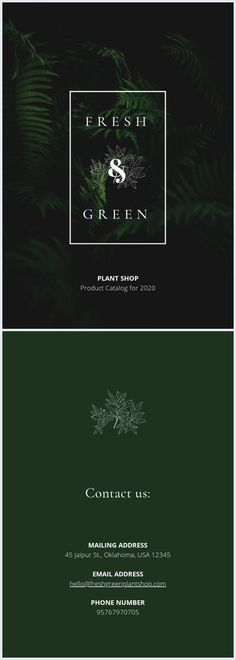 If you're in the houseplant business, you might want to use this green plant catalog cover template and promote your greenery. Catalog Cover, Plant Catalogs, Cover Template, Houseplant, Green Plants, Gd, Spice Things Up, Greenery, Magazines