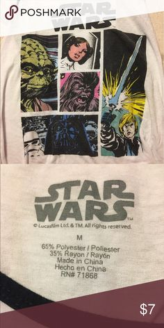 starwars tank top lose fitting, very comfy Tops Tank Tops