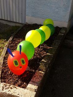 Luftballon-Raupe Nimmersatt