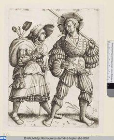 Landsknechte, Peter Flötner,  PURL http://kk.haum-bs.de/?id=d-hopfer-ab3-0061