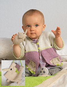 Bergere de France Jacket & Bag Knitting Pattern 184.681
