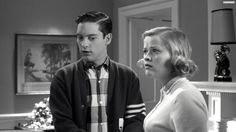Voila all thanks to him we were in a completely different world. WE WERE INSIDE THE TV.To be more precise we were now a part of pleasantville
