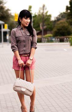 Leopard Pumps, Infinity Charm, Pink Shorts, Blue Nile, Buy Shoes, Petite Fashion, Michael Kors, Style Inspiration, Skinny