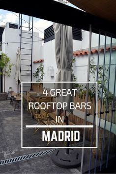 4 Amazing Rooftop Bars in Madrid || Wanderwings