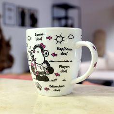 Sheepworld Tasse Ohne Dich ist alles doof groß Kaffeebecher Kaffeetasse Kaffee