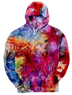 Nike Hoodie in Sublime Tye Dye, Ice Tie Dye, Bleach Tie Dye, How To Tie Dye, Bleach Pen, Nike Hoodie, Ropa Color Neon, Diy Tie Dye Shirts, Ty Dye Shirts