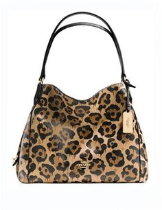 ... EDIE SHOULDER BAG 28 IN PEBBLE LEATHER Prairie Satchel in Wild Beast  Print Leather Accessories Pinterest Satchels dab380a441564