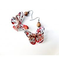 AbsoluteJewelry - Dr Pepper Recycled Earrings - Butterfly 3D