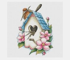 Thrilling Designing Your Own Cross Stitch Embroidery Patterns Ideas. Exhilarating Designing Your Own Cross Stitch Embroidery Patterns Ideas. Cross Stitch Tutorial, Cute Cross Stitch, Cross Stitch Bird, Cross Stitch Borders, Cross Stitch Flowers, Modern Cross Stitch, Counted Cross Stitch Patterns, Cross Stitch Designs, Cross Stitching