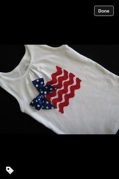 Kids 4th of July tank top