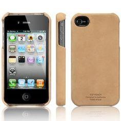 SGP Leather Pouch Case Vintage Brown Case iPhone 4
