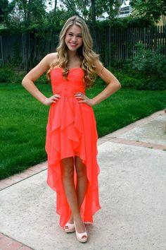 Hd09097 Charming Homecoming Dress,Chiffon Homecoming Dress,Sweetheart Homecoming Dress,High/Low Homecoming Dress