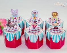 Caixa Tambor Tema Circo