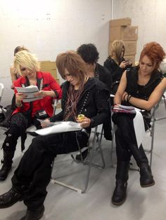 Ryouga. Kifumi. Tomo. Ken. Ikuma. BORN x AND Eccentric Agent. Japanese Men, Eccentric, Visual Kei, Reign, Kpop, Rock, Cute, Fictional Characters, Japanese Artists