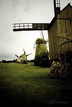 Angla mills, Saaremaa, Estonia #COLOURFULESTONIA #VISITESTONIA