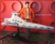 43,000-Piece LEGO Star Destroyer.