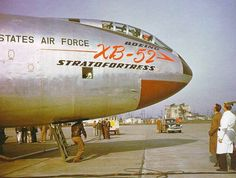XB-52 Stratofortress of the United States Air Force ...