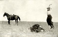 The original cowgirl, Lucille Mulhall, celebrating her roping in her cowboy boots Rodeo Quotes, Cowboy Quotes, Equestrian Quotes, Horse Quotes, Western Quotes, Horse Sayings, Equestrian Chic, Western Art, Cowgirl And Horse