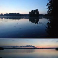 Uuteen aamuun hämärä väistyy. #Kuopio