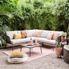 Garden Paving, Terrace Garden, Dream Garden, Home And Garden, Grey Houses, Backyard, Patio, Back Gardens, Home Decor Styles