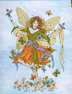 Butterfly Fairy - Cross Stitch Pattern