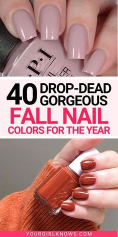 Fall is here! And if you are someone looking for cute fall nail colors then click through because this is the only post you need to know all the trendy fall nail colors 2021. You'll find fall…