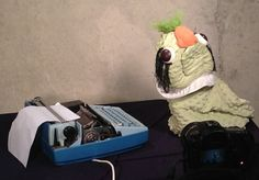 still from Anhedonia pilot. Maybe the ugliest puppet I've yet to build. www.zoweeproductions.com
