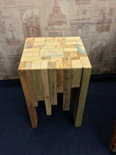 Pallet butcher box table