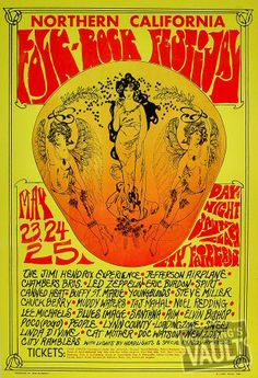 Performers:        Jimi Hendrix Experience      Jefferson Airplane      The Chambers Brothers      Led Zeppelin      Eric Burdon      Spirit      Canned Heat      Buffy Sainte-Marie      The Youngbloods      Steve Miller      Chuck Berry      Muddy Waters      Taj Mahal      Noel Redding      Lee Michaels      Blues Image      Santana      Aum      Elvin Bishop      Poco      People      Linn County      The Loading Zone      Sweet Linda Divine      Cat Mother & The All Night News Boys…