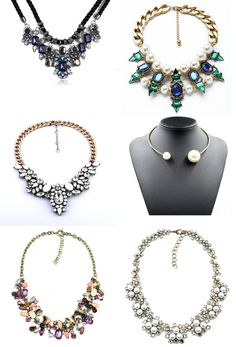 78 Best Crystal Plated Necklace images  c35834adedf6