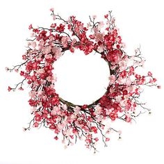 Cherry Blossom Wreath More