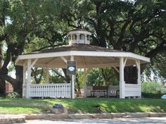 Llano, TX in Texas Band Stand.