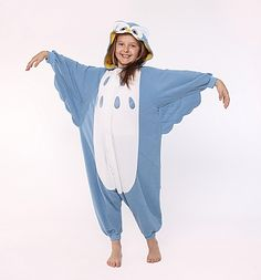 Owl Kids Animal Onesie Costume Owl Kids, Animals For Kids, Onesie Costumes, Onesies, Rain Jacket, Windbreaker, Halloween Costumes, Cute, Jackets