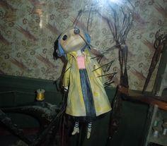 stop motion animation Coraline Coraline Movie, Coraline Doll, Coraline Jones, Coraline Costume, Film Tim Burton, Tim Burton Characters, Tim Burton Style, Animation Image Par Image, Kpop Anime