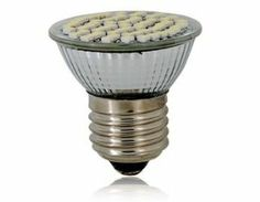 E27 3W 60*1210 LED 240LM White Light Bulb Lamp 220V (Silver) by QLPD. $28.90. Ideal for illumination at home or office.It is very convenient to install.