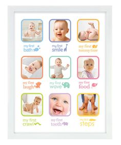 Look at this Pearhead My Firsts Collage Frame on #zulily today!