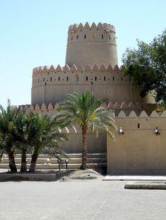 Al Jahili Fort in Al Ain, United Arab Emirates