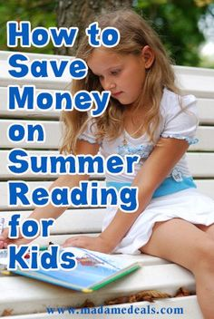 Money Saving Tips on Summer Reading for Kids http://madamedeals.com/money-saving-tips-for-summer-reading/ #inspireothers
