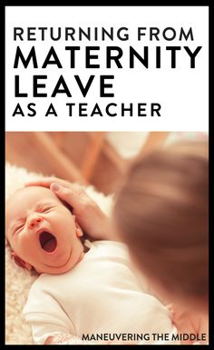 Returning to the classroom from maternity leave as a teacher is a challenge! Here are some tips based on my experience to set yourself up for success. Maternity Leave Teacher, Learning To Say No, Pregnancy Months, Return To Work, He Is Able, Previous Year, Classroom Activities, Lesson Plans, Challenges