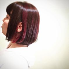 WEBSTA @ tsutomukawasaki - #magnolia #hairsalon #ヘアサロン #美容室 #美容師 #hairstyle #ヘアスタイル #ヘアスタイル撮影 #medium #ダブルカラー #マニパニ #マニッパニック  #ボブ #ファッション #ハイライト #インナーカラー #インフラレッド #ライラック