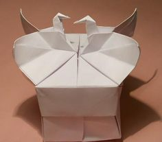 Origami caixa de vídeo