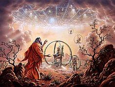 Anunnaki Spaceships | Alchemical Emblems, Occult Diagrams, and Memory Arts: Ezekiel's ...