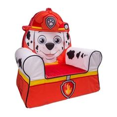 "Nick Jr. Paw Patrol Comfy Character Chair - Marshall - Spin Master - Toys ""R"" Us"