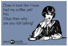 Handmade greeting cards funny-at-least-i-think-so I Love Coffee, My Coffee, Morning Coffee, Coffee Talk, Coffee Break, Coffee Life, Coffee Club, Drink Coffee, Coffee Shop