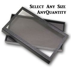 Wholesale lot of 30 Black 36 Ring Display Storage Organizing Stackable Trays