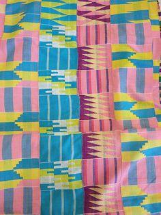 ghana textiles by guzzisue, via Flickr